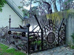 Scrap Metal Fences